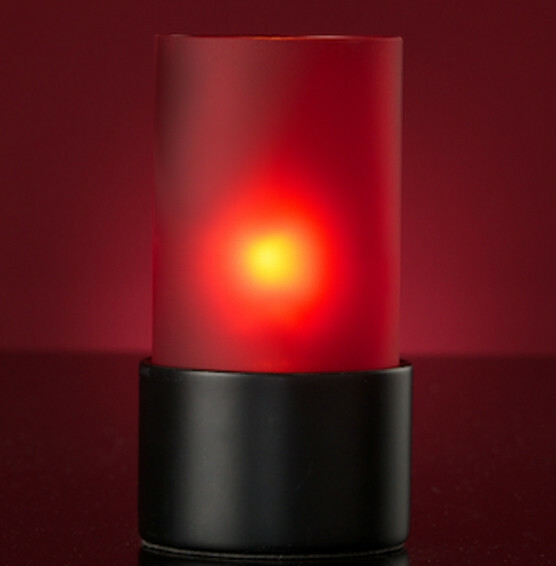 Lumea Ambeo Frosted Red voet zwart