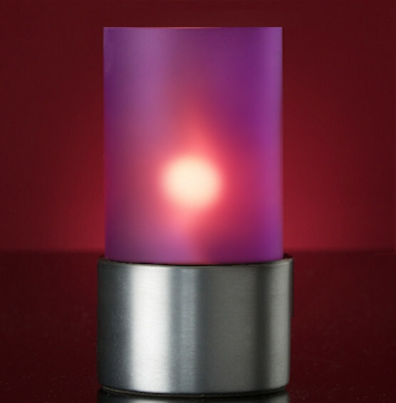 Lumea Ambeo Frosted Violet voet RVS mat
