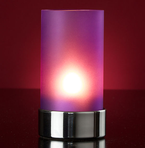 Lumea Ambeo Frosted Violet voet chroom