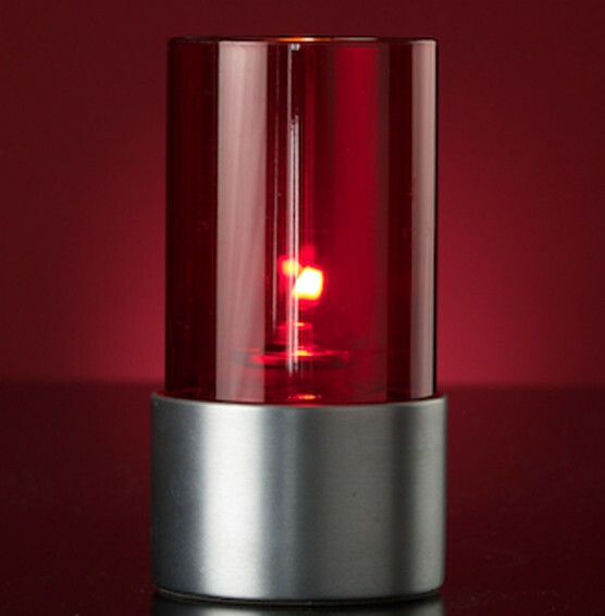 Lumea Ambeo Clear Red voet RVS mat