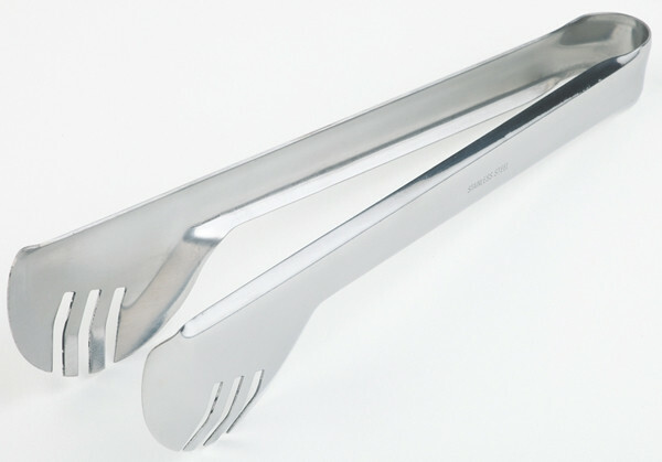 serveertang saladetang 5 x 2 cm, lengte 24 cm