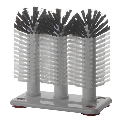 glazenspoelborstels 3 nylon borstels 18 cm hoog