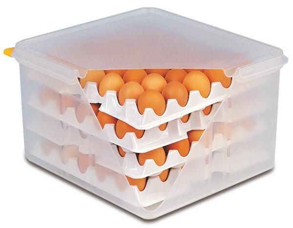 ei bewaardoos 35,4 x 32,cm 4 trays