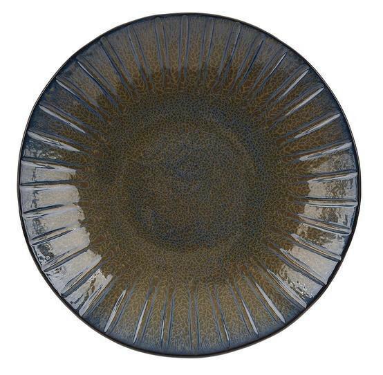 Q Authentic Stoneblue bord plat 28,5 cm