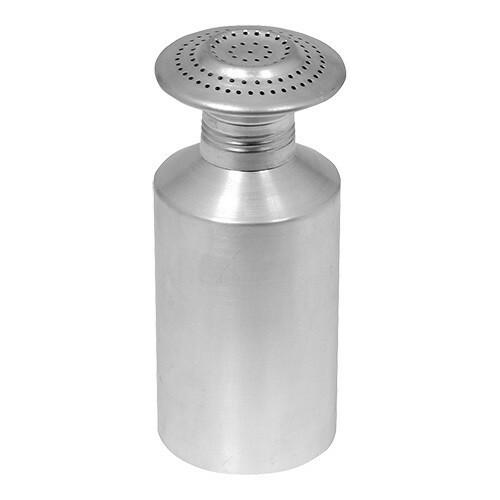 zoutstrooier aluminium Ø 8 x 19(h) cm