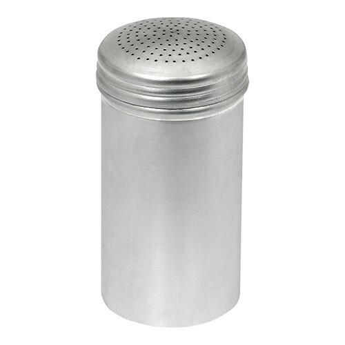 peperstrooier aluminium Ø 8 x 14(h) cm
