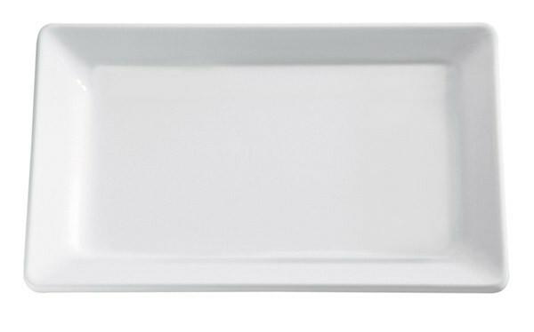 APS melamine Pure plateau 35,3 x 18 cm wit