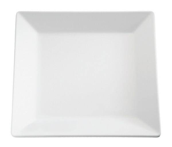 APS melamine Pure plateau 18 x 18 cm wit