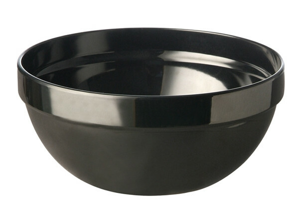 APS melamine Casual bowl 14 cm ZWART