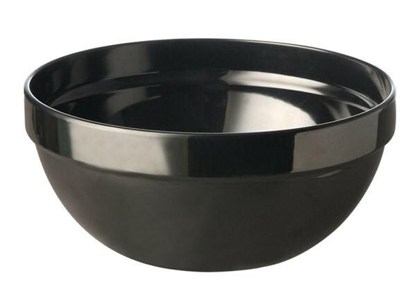 APS melamine Casual bowl 23 cm ZWART