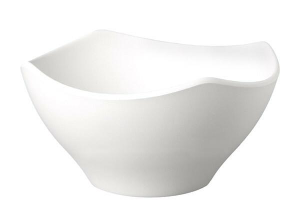 APS melamine ZEN scalloped bowl 21 cm ZWART