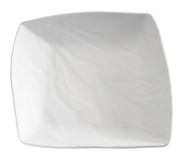APS melamine ZEN bord 23 x 23,5 cm WIT