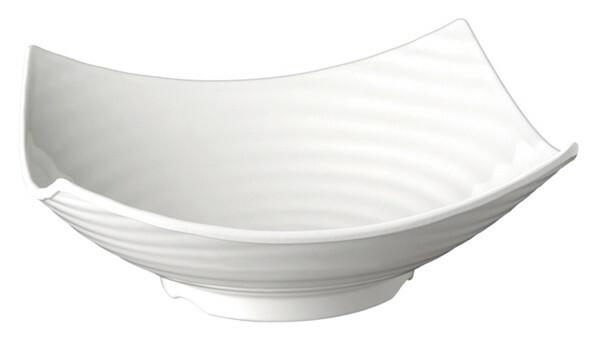 APS melamine Global Buffet bowl vierkant 32,5 cm WIT