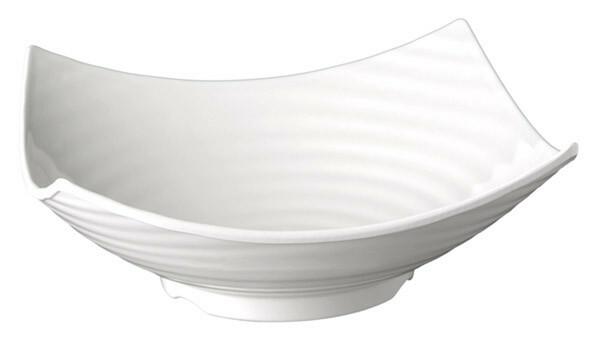 APS melamine Global Buffet bowl vierkant 35 cm WIT