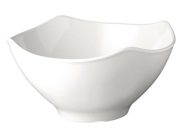 APS melamine Global Buffet bowl 25,5 cm WIT