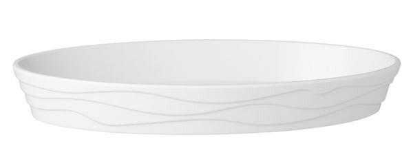APS Classic Wave schaal ovaal 47 x 29 cm