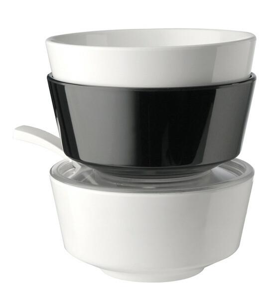 APS melamine FLOAT bowl 20,5 cm WIT
