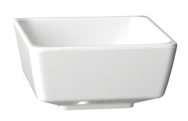 APS melamine FLOAT bowl vierkant 5,5 cm WIT