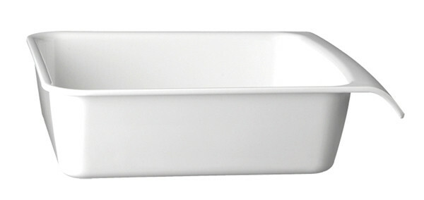 APS melamine Cascade buffetbak 28,5 x 25,5 cm