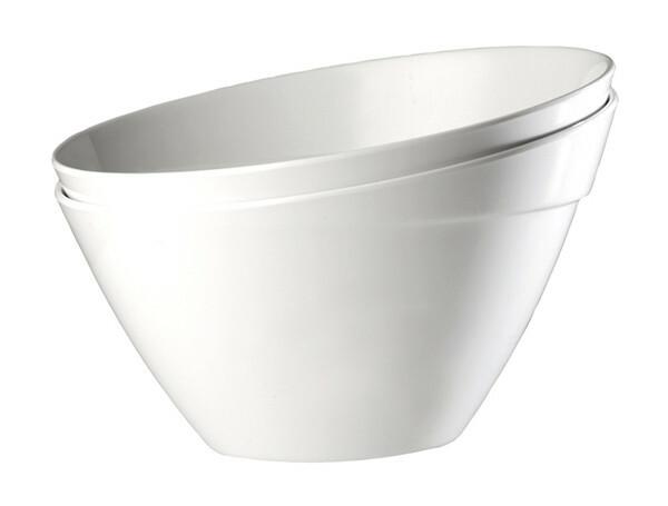 APS melamine Balance bowl 24,5 cm WIT
