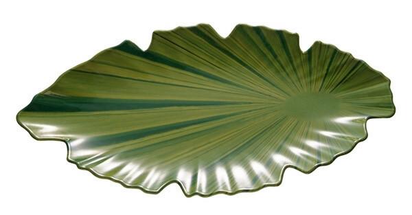 APS melamine Natural Collection bladschaal GROEN 40 x 18,5 cm