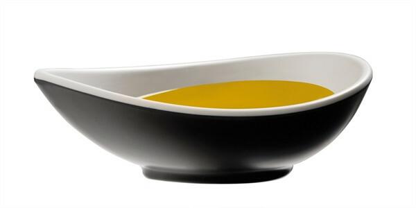 APS melamine Halftone bowl ovaal 11,5 x 7 cm