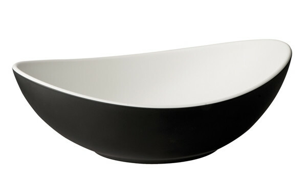 APS melamine Halftone bowl ovaal 24 x 17,5 cm