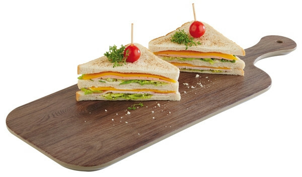 APS melamine OAK plank melamine 40 x 20 cm