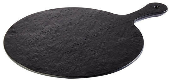 APS Melamine Slate-Rock plateau Ø 30 cm