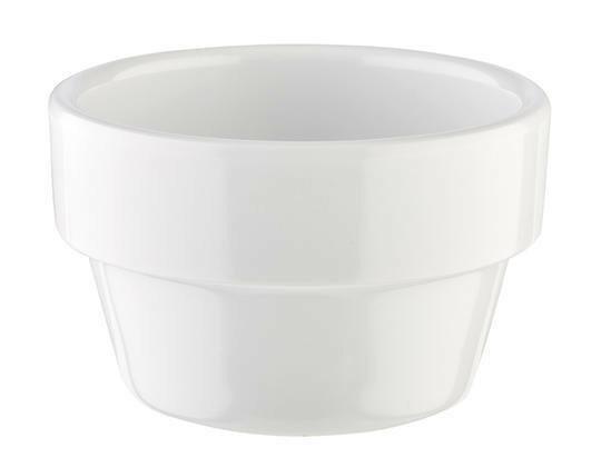 APS melamine Flower Pot bowl Ø 6 cm 4 cl wit