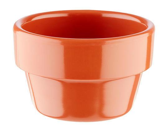APS melamine Flower Pot bowl Ø 6 cm 4 cl terracotta