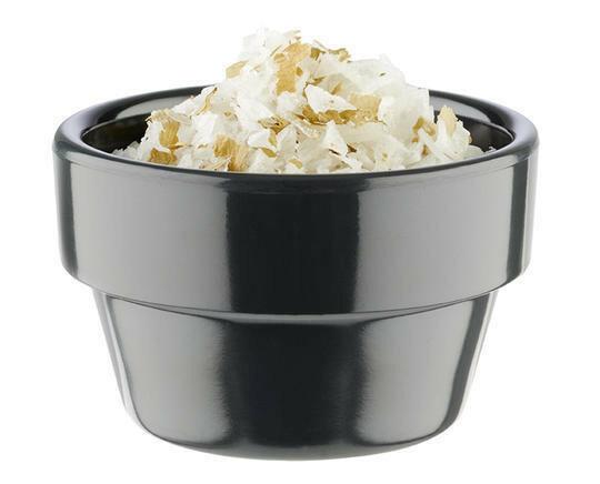 APS melamine Flower Pot bowl Ø 6 cm 4 cl antraciet