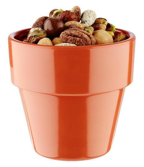 APS melamine Flower Pot bowl Ø 9 cm 30 cl terracotta