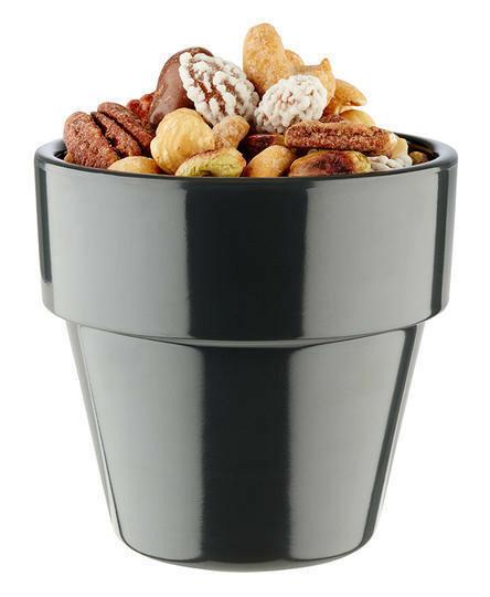 APS melamine Flower Pot bowl Ø 9 cm 30 cl antraciet