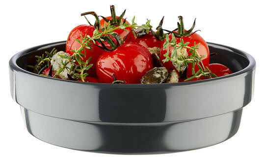 APS melamine Flower Pot bowl Ø 12 cm 20 cl antaciet