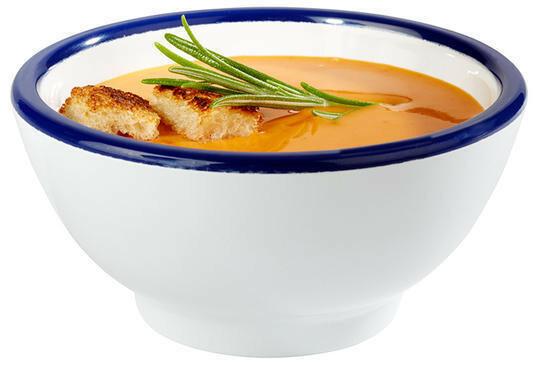 APS melamine Enamel Look bowl Ø 9,5 x 4,5(h) cm