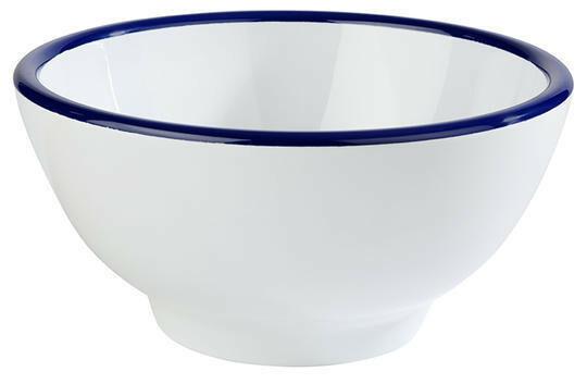 APS melamine Enamel Look bowl Ø 20 x 10,5(h) cm