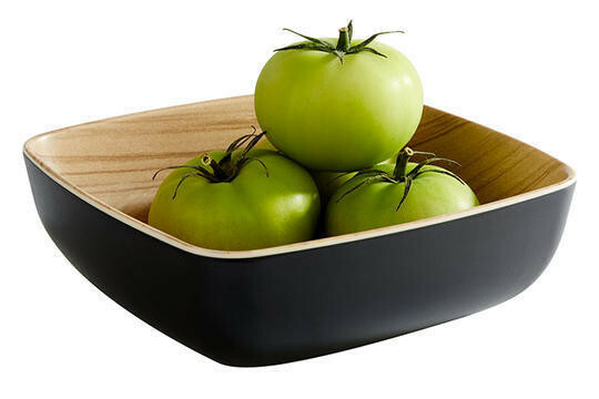 APS melamine Frida bowl 16,5 x 16,5 x 5,5(h) cm zwart