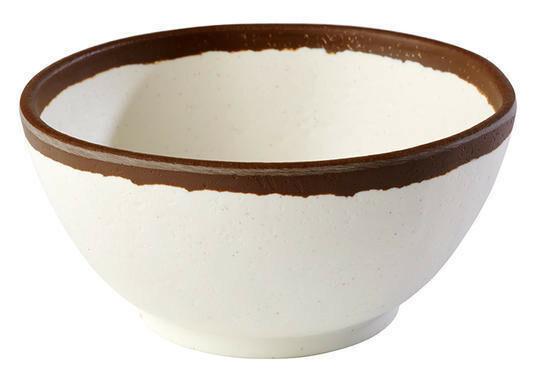 APS melamine Crocker bowl Ø 12,5 cm 37 cl wit