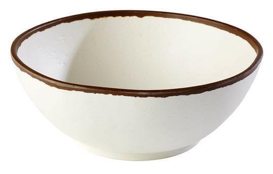 APS melamine Crocker bowl Ø 21 cm 1,45 Ltr wit