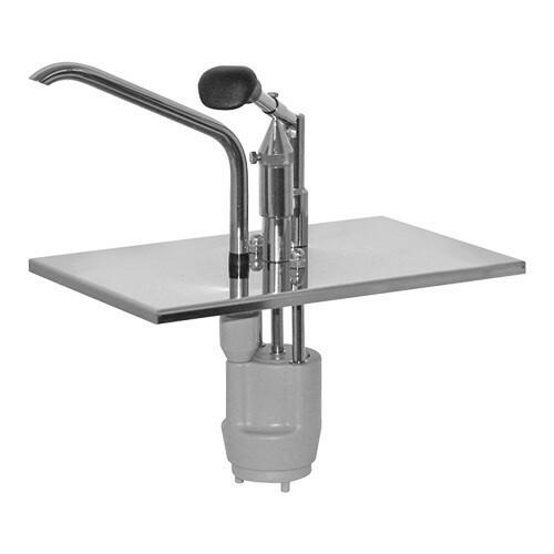sausdispenser los RVS * voor gastronormbak GN 1/4 15 - 20 cm diep