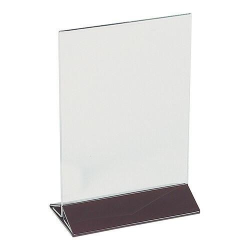 menukaarthouder plexiglas 13 x 17(h) cm