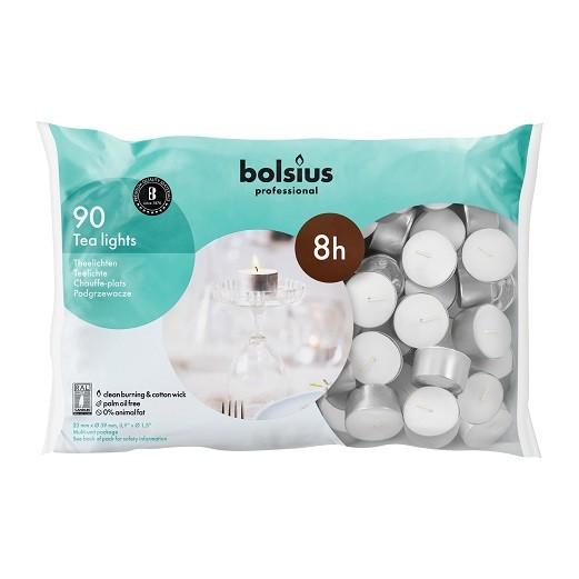 Bolsius waxinelichtjes Professional 8 uurs DOOS 90