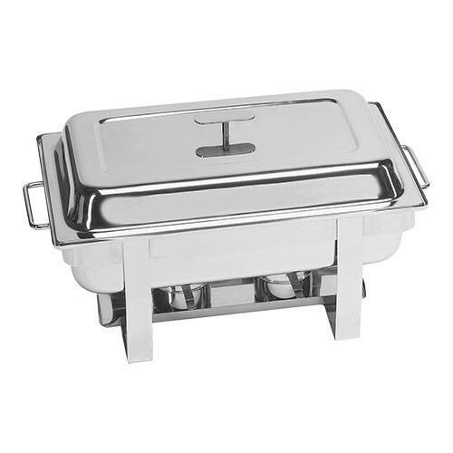 chafing dish Millenium 18/10 * voedselpan 1/1 GN 65 mm