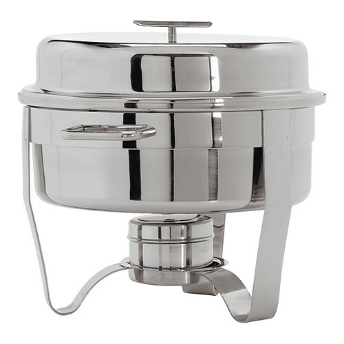 chafing dish rond 18/10 8 Ltr