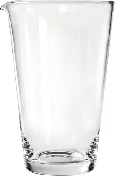 bar mix glas met lip Ø 11,5 cm x 19(h) cm 0,95 Ltr