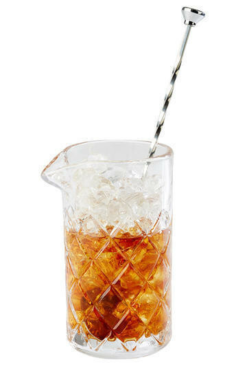 bar mix glas met lip Ø 9 cm x 16,5(h) cm 0,5 Ltr