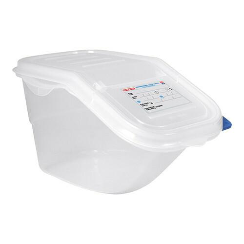 Araven voedselcontainer 1/3 GN polypropyleen 7 Ltr met twee openingen