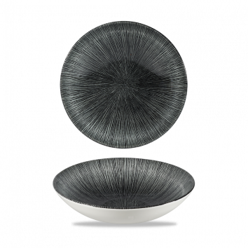 Studio Prints Agano Black coupe bowl 18,2 cm