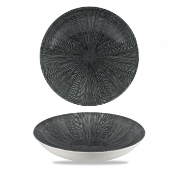 Studio Prints Agano Black coupe bowl 24,8 cm